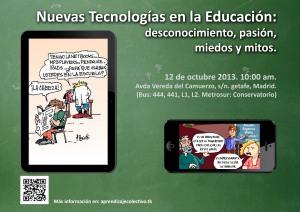 Cartel TIC en educación