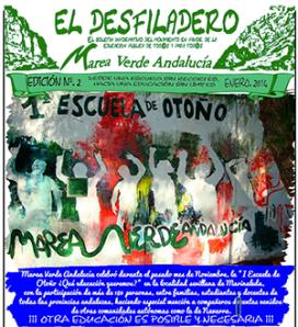 Revista El desfiladero, Enero 2014