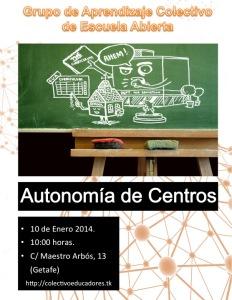 Autonomía de Centros en Educación
